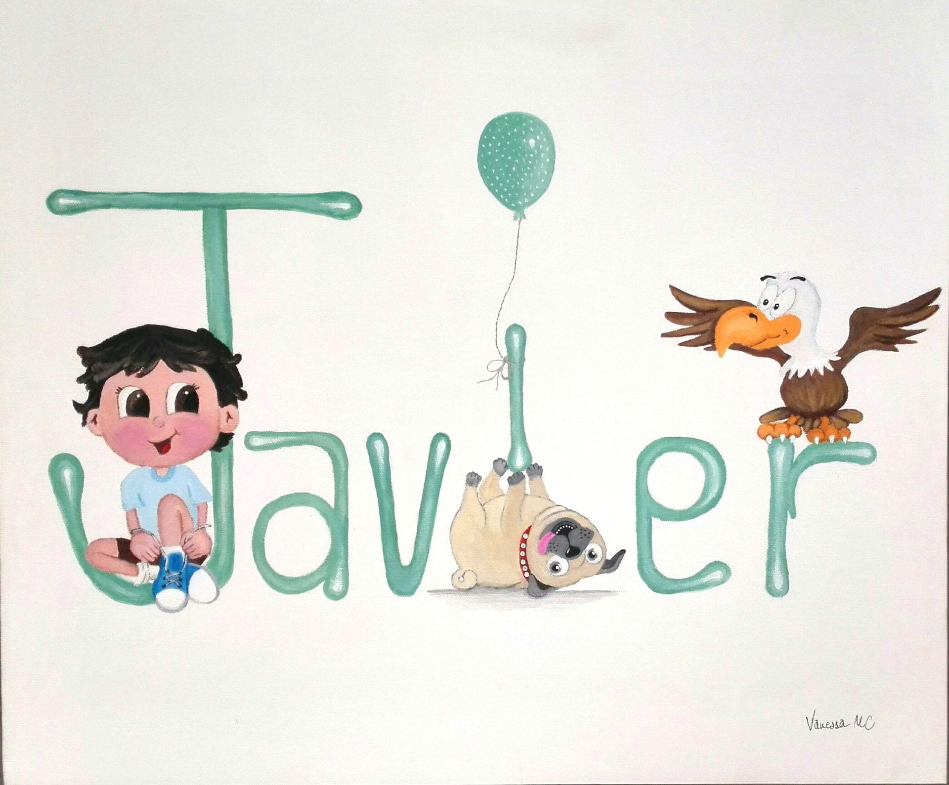 Cuadros infantiles personalizados - Acrilico sobre lienzo ...